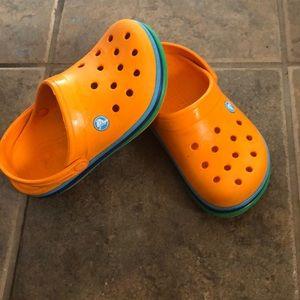 Crocs Junior Size 3 Slide On Junior size 3 Sandals